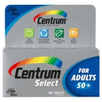 Centrum Select 50+ (100 tablets)
